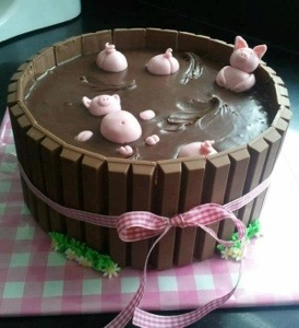 Birthday Cake Suggestion for the Mommy Piglove