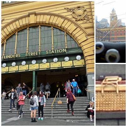 Bashful at Flinders St Station
