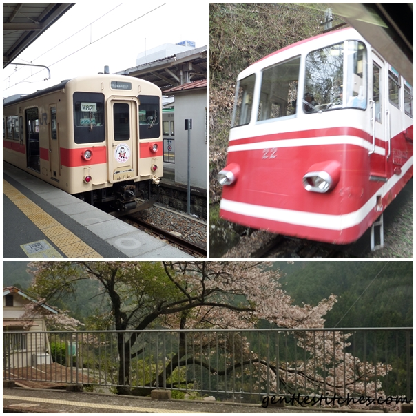 rail travel from Kyoto to Kyosan