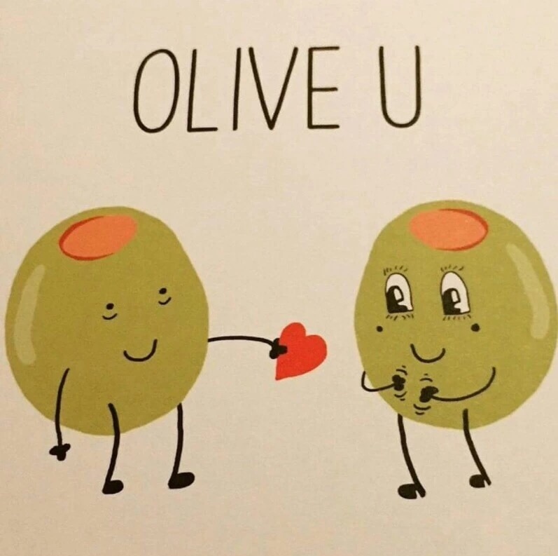 valentines day sayings and quotes for friends - Olive You